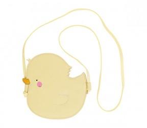 Skuldertaske fra A Little Lovely Company - Pocket money bag Little Duck