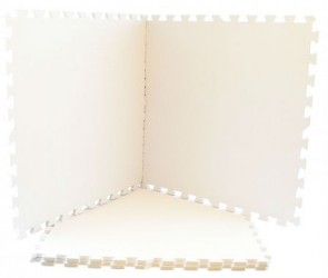 Skumgulv fra Magni - Hvid (4x60x60)