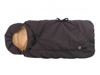 Sleepbag byCar - Sort/ Brun Sove- og kørepose