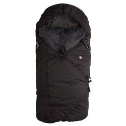 Sleepbag kørepose - Mini - Sort/grå