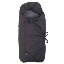 Sleepbag kørepose til autostolen - Bycar - Sort/grå