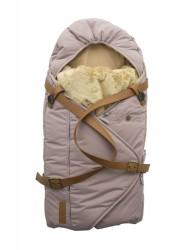 Sleepbag.dk Babysovepose, quail-brun
