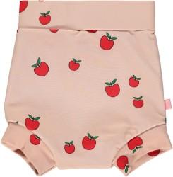 Småfolk Blebadebukser, Høj Talje, UV50 - Pink Æble