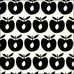 Småfolk Stofble - apple b.grey