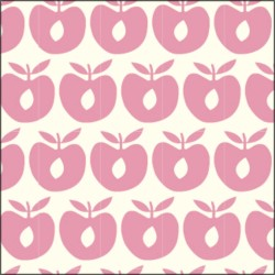 Småfolk Stofble - apple sea pink