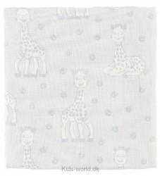 Småfolk X Sophie La Girafe Stofble - Grå m. Giraffer