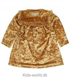 Small Rags Kjole - Velour - Guld