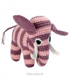 Smallstuff Bamse - Elefant - Mørk Rosa/Lyserød