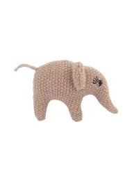 Smallstuff Håndrangle Elefant, Pudder/Guld