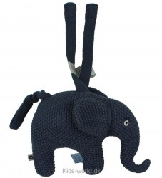Smallstuff Musikuro - Elefant - Navy