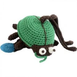 Smallstuff Musikuro med bugs grøn