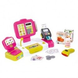 Smoby elektronisk kasseapparat - Pink