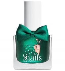 Snails Neglelak - Candy Apple - Mørkegrøn m. Glimmer