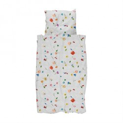 SNURK Knitted Flower sengetøj - 140x200 cm
