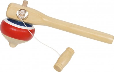 Snurretop fra Goki - Top with pull out string (18 cm)