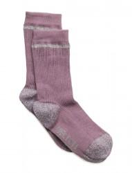Sock - Rib With Silver Lurex
