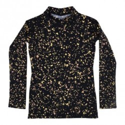 Soft Gallery astin swim shirt terazzo blue - UPF 50+