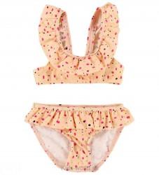 Soft Gallery Bikini - UV50 - Alicia - Fersken m. Prikker