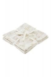 Soft Gallery Muslin, Fluffy Sky, AOP Mini Splash Cream