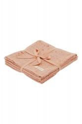 Soft Gallery Muslin, Peach Perfect, AOP Mini Splash Rose