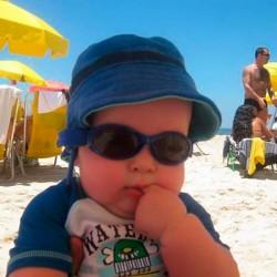 Solbrille - Baby Banz - Adventure - Sort