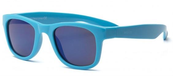 Solbriller fra Real Shades - Surf Flex - Neon Blå