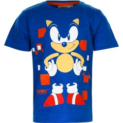 Sonic T-shirt, blå