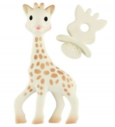 Sophie la Girafe - Giraf m. Bidering