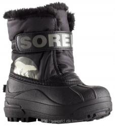 Sorel Vinterstøvler - Tex - Childrens Snow Commander - Sort
