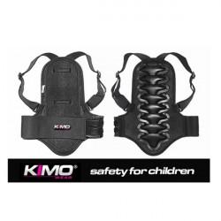 Sort rygskjold til børn til motocross og ATV kørsel - Medium