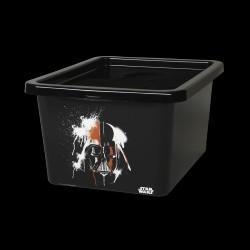 Sort Star Wars Darth Vader opbevaringsboks 18L - Lego