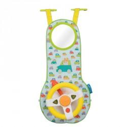 Sounds and Lights Car Wheel Toy fra Taf Toys