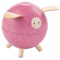 Sparegris fra Plantoys - Rosa - Bæredygtigt legetøj