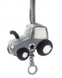 Spilledåse fra Smallstuff - Håndhæklet - Traktor