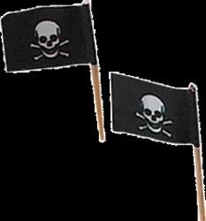 Spøgelse - Skelet flag (50)
