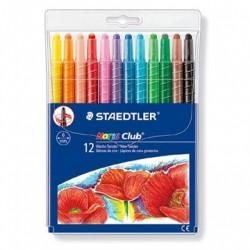 STAEDTLER Noris Club Twister Farver 12 stk.
