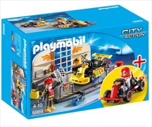 StarterSet Gocartværksted - PL6869 - Playmobil City Action