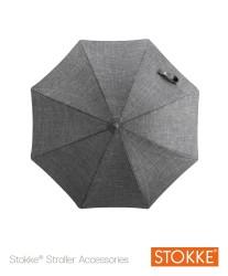 Stokke® Stroller Parasol, Black Melange
