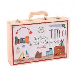 Stor værktøjskuffert til børn fra Moulin Roty
