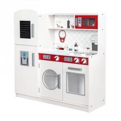 Stort legekøkken med køleskab og opvaskemaskine
