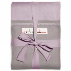Stræk vikle fra Je Porte Mon Bébe - Original - Lavendel m. grå
