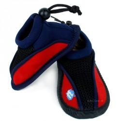 Strandsko fra Splash About - Splash Shoes - Rød/Navy