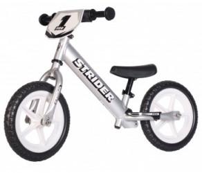 Strider Pro - Løbecykel - Sølv