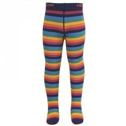 Strømpebukser fra Melton - Rainbow Stripes