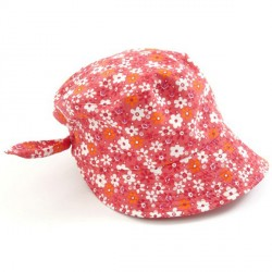 Sun cap fra Smallstuff - Red Flower