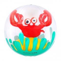 Sunnylife 3D-badebold - krabbe