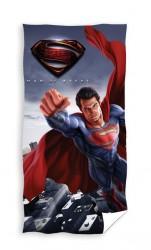 Superman ''Man of Steel'' Badehåndklæde - 100 procent bomuld