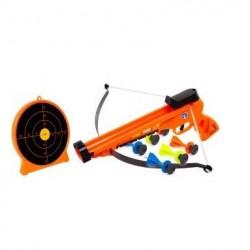 Sureshot Håndbue + Skydeskive til børn m/6 dartpile