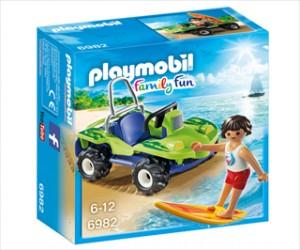 Surfer med firhjulet strandbil - PL6982 - PLAYMOBIL Family Fun