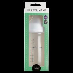 Sutteflaske fra Mininor - Wide-Neck PP 240 ml (0m+)